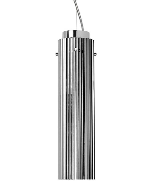 Suspensie Kartell By Laufen Rifly Design Ludovica & Roberto Palomba Led 10w H30cm Crom Metalizat