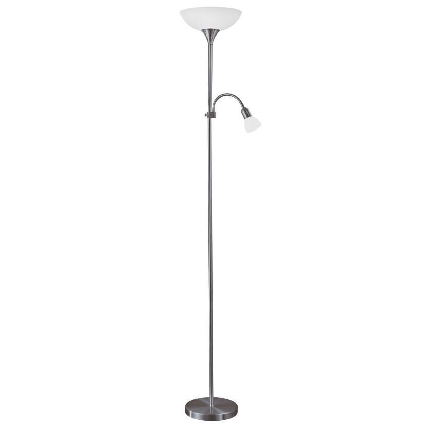 Lampadar Eglo Basic UP 2 1x60W h=176.5cm negru poza