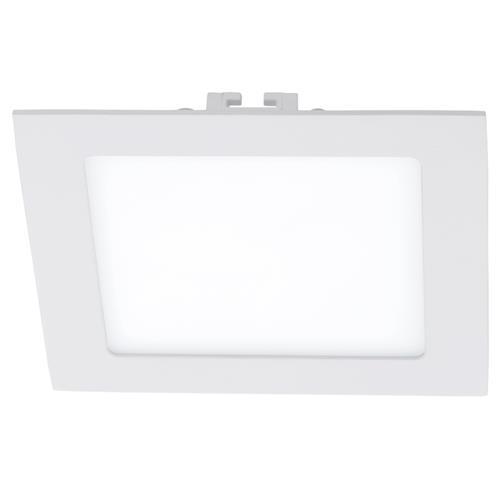 Plafoniera cu LED incastrabila Eglo Fueva 1 colectia Style 11W 1350 lm 17x17x2 5cm alb poza