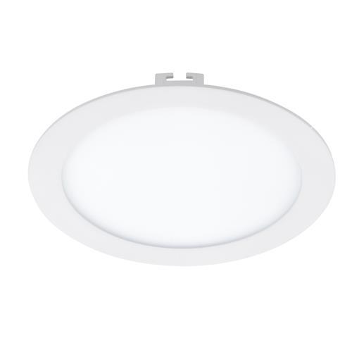 Plafoniera cu LED incastrabila Eglo Fueva 1 colectia Style 17W 1600 lm 22 5x2 5cm alb poza