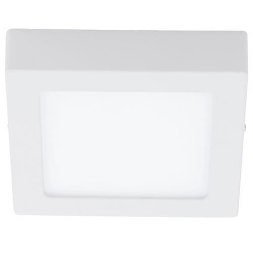 Plafoniera cu LED Eglo Fueva 1 colectia Style 11W 1200 lm 17x17x3 5cm alb poza