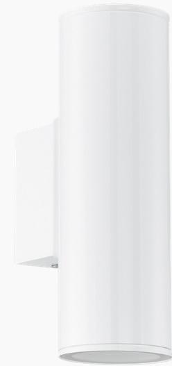 Aplica Eglo Modern Riga LED 2x 3W h20cm Alb poza