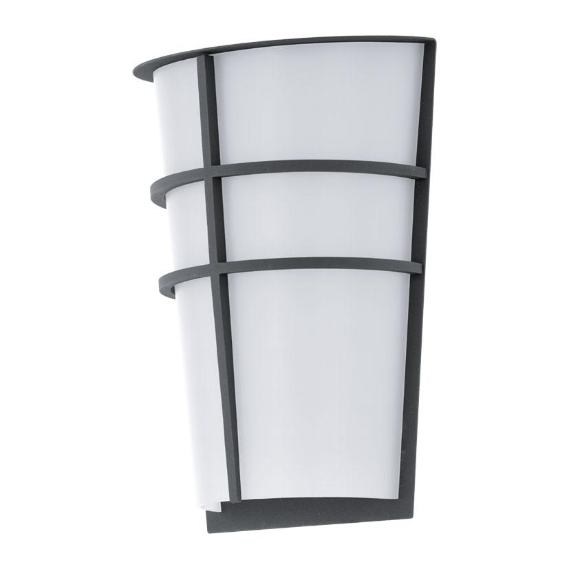 Aplica de exterior cu LED Eglo Modern Breganzo 2x2.5W 18x25x11.5cm otel antracit imagine sensodays.ro