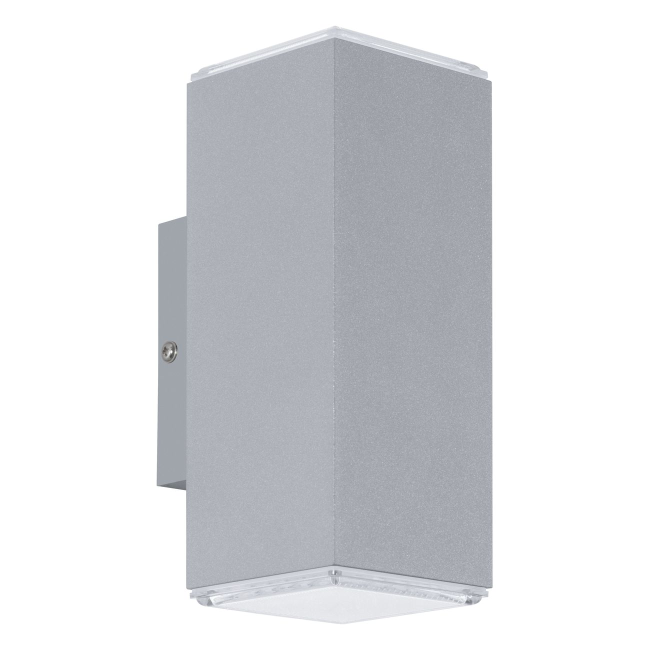 Aplica de exterior cu LED Eglo Modern Tabo 2x3.7W 7.5x7.5x19.5cm aluminiu imagine sensodays.ro