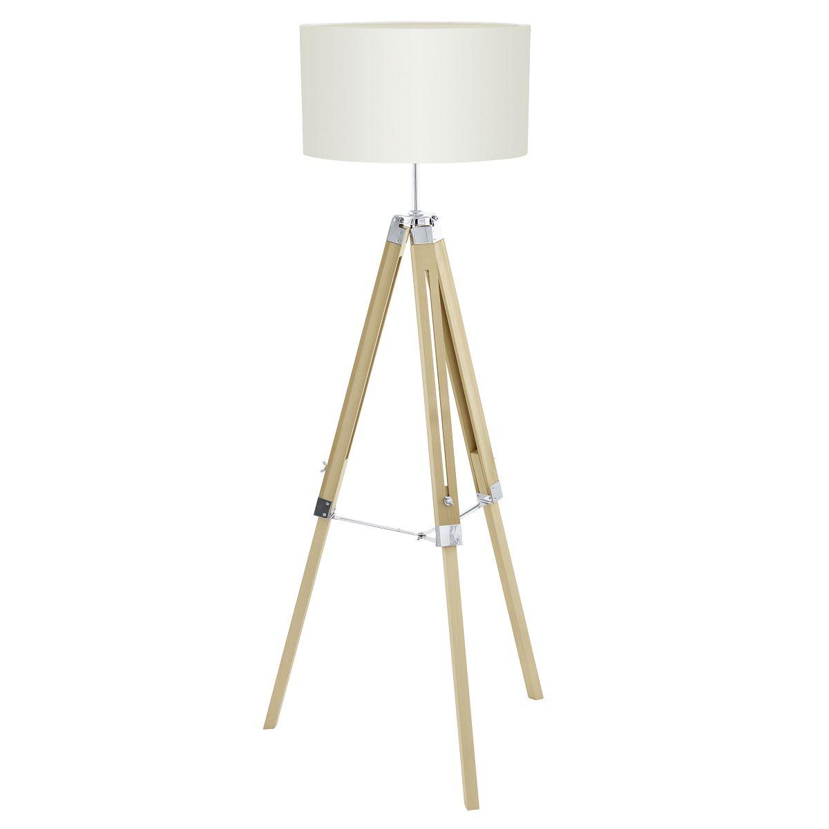 Lampadar Eglo Trend Lantada 1x60W h70-150cm bej