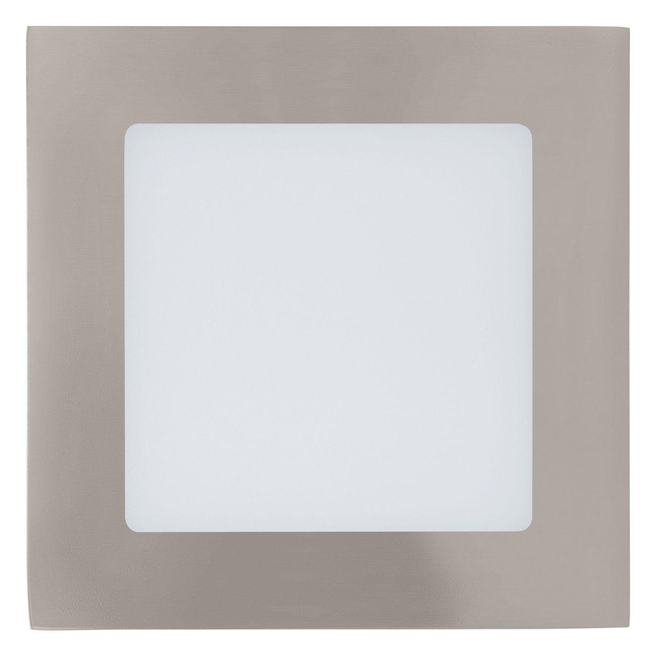 Plafoniera cu LED incastrabila Eglo Fueva 1 colectia Style 11W 600 lm 12x12x2 5cm alb poza