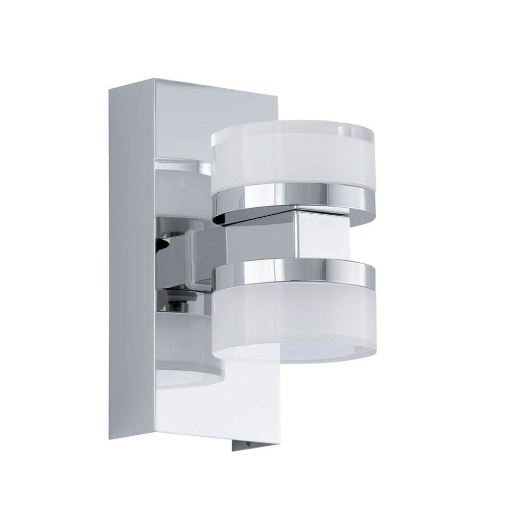 Aplica de perete LED Eglo Style Romendo 2x4.5W h15.5cm crom poza