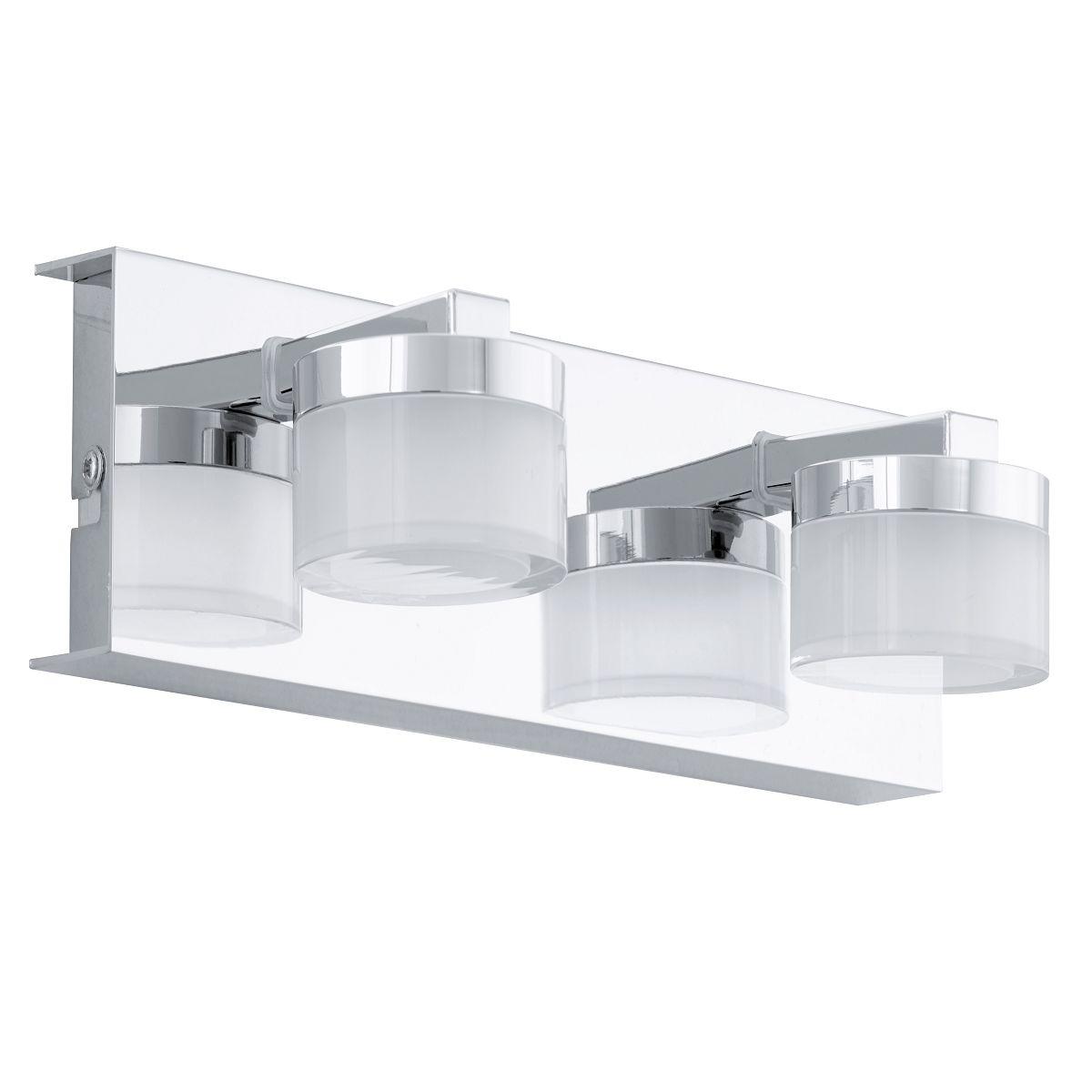 Aplica de perete LED Eglo Style Romendo 2x4.5W L30cm crom poza