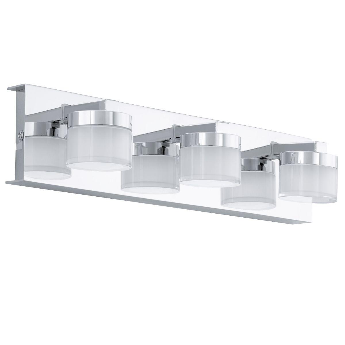 Aplica de perete LED Eglo Style Romendo 3x4.5W L45cm crom poza