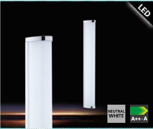 Aplica Eglo Gita 2 1x16W 60cm colectia Style Alb imagine sensodays.ro