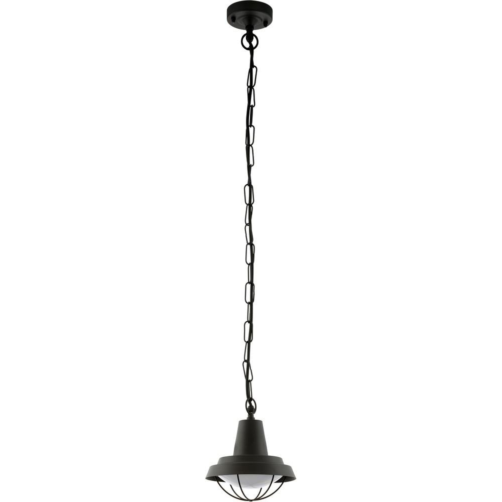 Pendul Eglo Classic Colindres 1 1x60W h=127cm otel negru