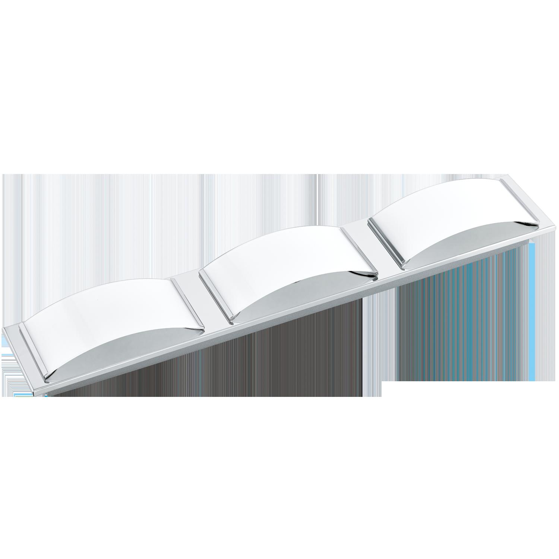 Aplica LED Eglo Style Wasao 1 3x5.4W 63x10.5cm crom-alb