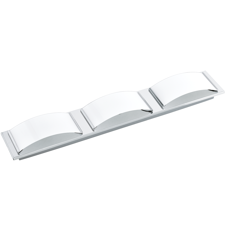 Aplica LED Eglo Style Wasao 1 3x5.4W 63x10.5cm crom-alb poza