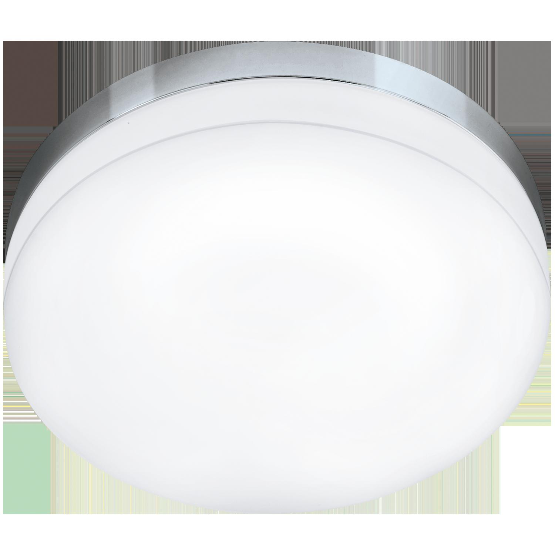 Aplica LED Eglo Style Lora 16W d32cm crom-alb poza