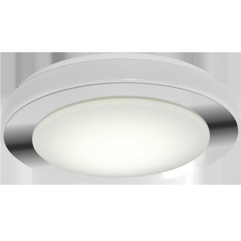 Aplica LED Eglo Style Carpi 16W d38.5cm crom-alb imagine sensodays.ro