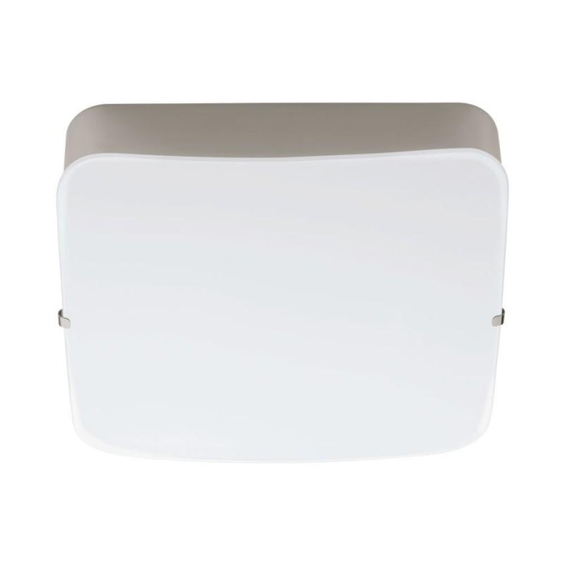 Aplica Eglo Style Cupella 11W LED 15.5x15.5cm nichel mat-alb poza