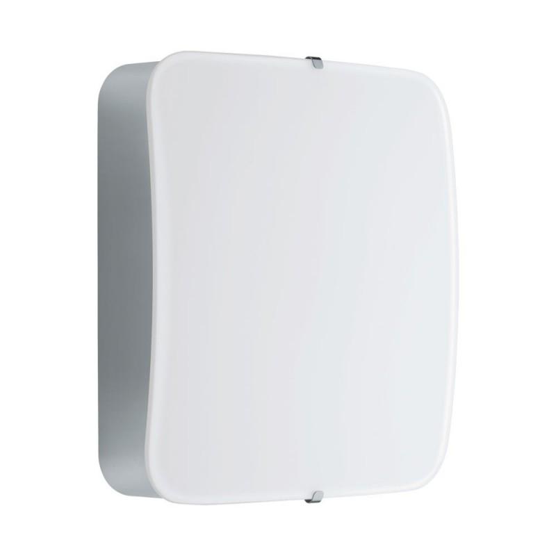 Aplica Eglo Style Cupella 11W LED 15.5x15.5cm crom-alb poza