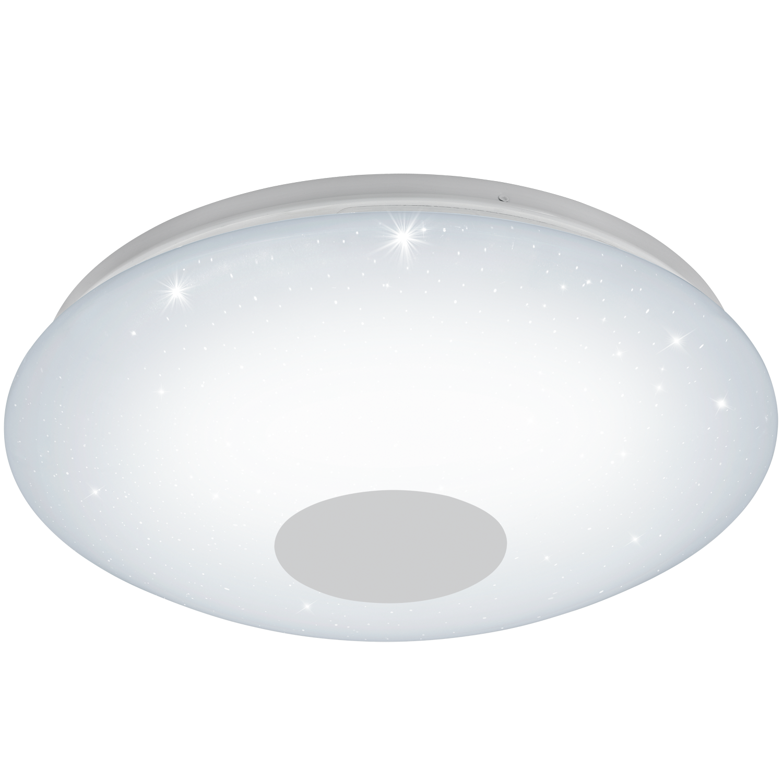 Aplica LED Eglo Voltago 2 30W telecomanda d60cm alb imagine