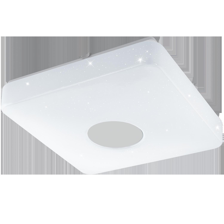 Aplica LED Eglo Voltago 2 20W telecomanda 35.5x35.5cm alb imagine sensodays.ro