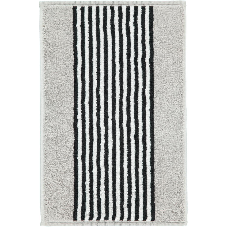 Prosop baie Cawo Black & White Stripes 50x100cm 76 argintiu imagine