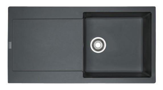 Chiuveta bucatarie fragranite Franke Maris MRG 611-L reversibila 870x500mm Grafite imagine sensodays.ro