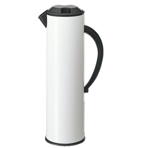 Carafa isoterma Cilio 1 litru alb poza