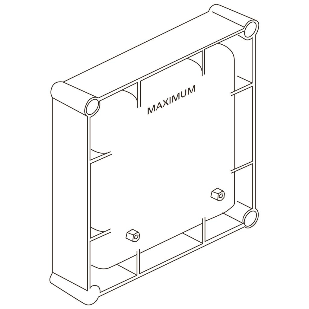 Cutie electronica incastrata Ideal Standard cu alimentare la retea 220V poza