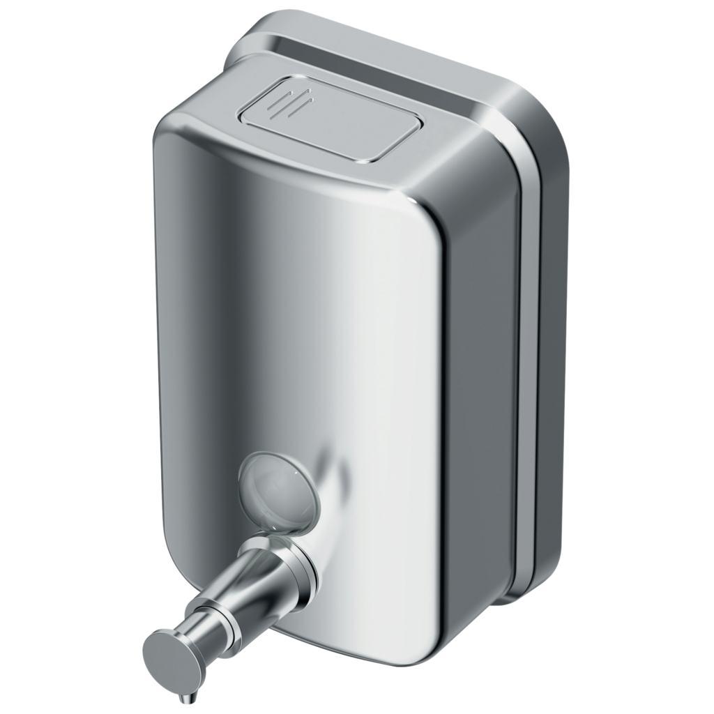 Dispenser sapun Ideal Standard IOM 0.5L cu montaj pe perete imagine