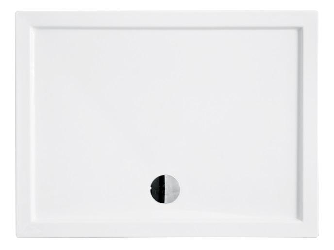 Cadita de dus dreptunghiulara Besco Alpina Slim 120x80 cm RESIGILAT poza