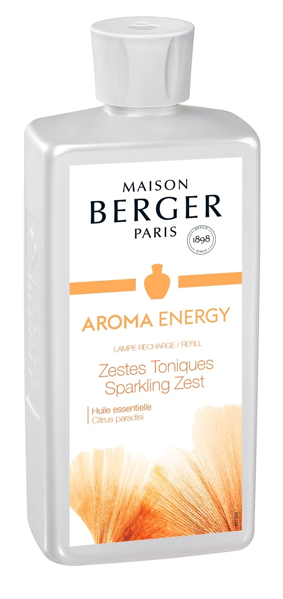 Parfum pentru lampa catalitica Berger Zestes Toniques 500ml imagine