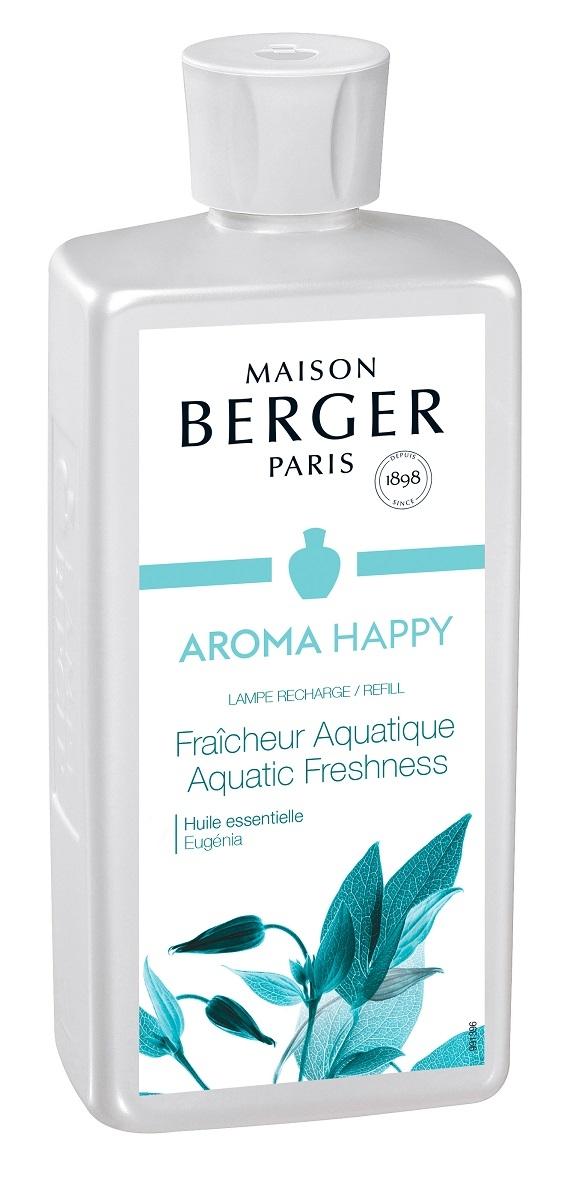 Parfum pentru lampa catalitica Berger Fraicheur Aquatique 500ml poza