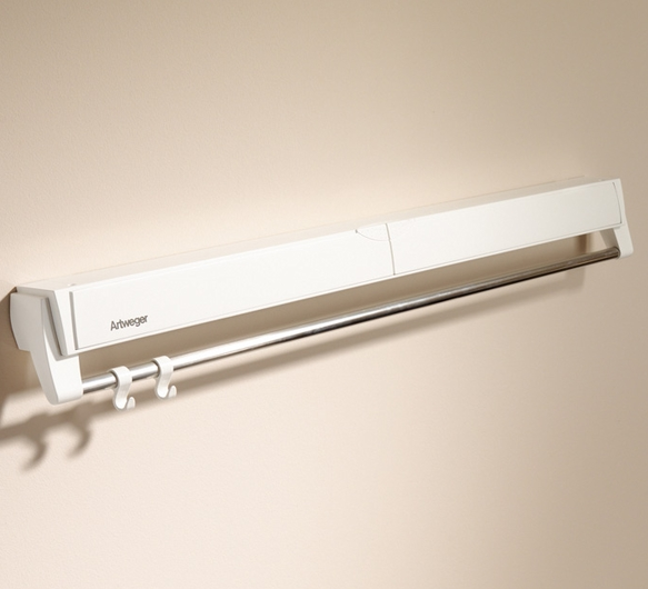 Uscator de rufe Artweger ArtDry 100 cm montare pe perete alb