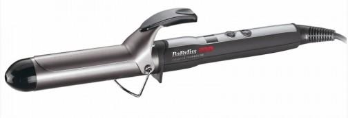 Ondulator BaByliss PRO 2275TTE cu afisaj digital 38mm Titaniu-Turmalina poza