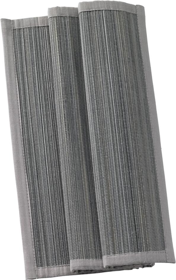 Suport farfurii Sander Basics Bamboo 33x48cm bambus 21 Grey poza