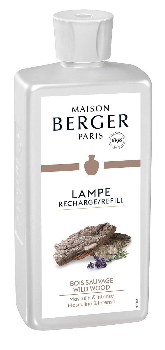 Parfum pentru lampa catalitica Berger Bois Sauvage 500ml imagine