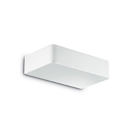 Aplica Ideal Lux Brick AP2 2x40W 20x5x12.5cm argintiu poza