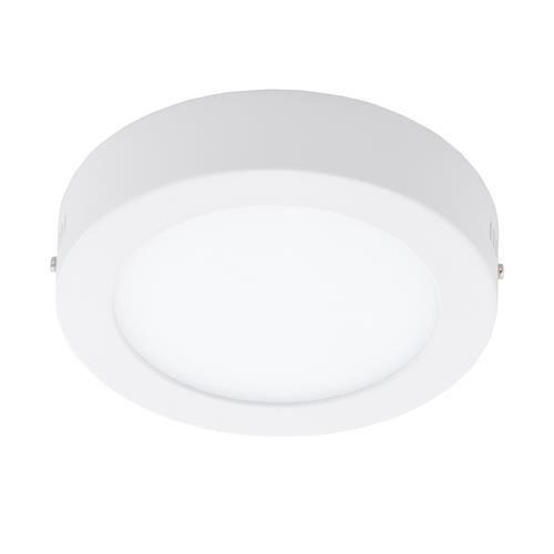Plafoniera cu LED Eglo Fueva 1 colectia Style 11W 1200 lm 17x3 5cm alb imagine sensodays.ro