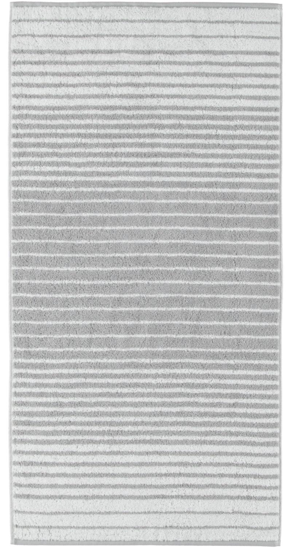 Prosop baie Cawo Shades Stripes 50x100 cm platina poza