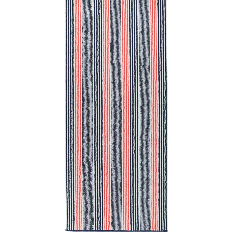 Prosop baie Cawo Maritime Stripes 70x140cm 12 rosu poza