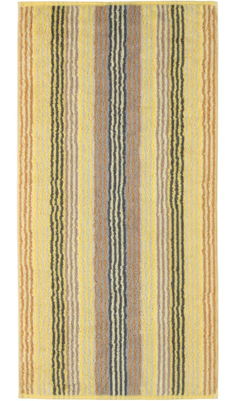 Prosop baie Cawo Unique Stripes 50x100 cm citrine imagine