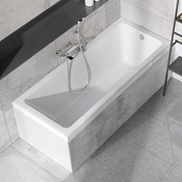 Cada baie rectangulara Ravak Concept 10° 170x75cm acril