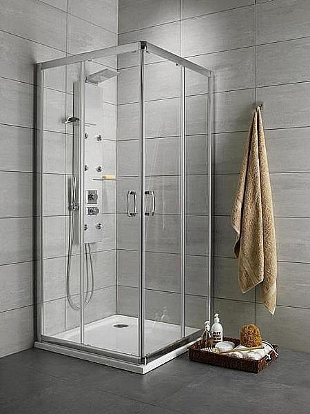 Cabina de dus patrata Radaway Premium Plus C 100x100 cm imagine