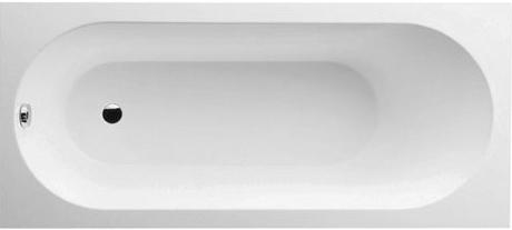 Cada baie rectangulara incastrabila Villeroy & Boch Oberon 180x80cm compozit poza