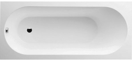 Cada baie rectangulara incastrabila Villeroy & Boch Oberon 160x75cm compozit