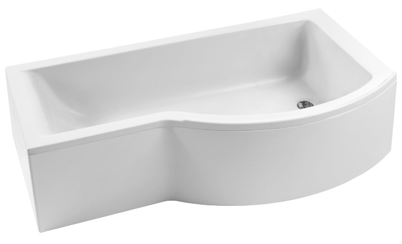 Cada Asimetrica Ideal Standard Connect Shower 170x90 Varianta De Dreapta White Incastrabila