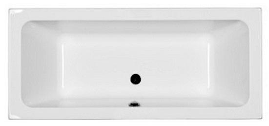 Cada baie rectangulara Kolo Modo Duo 180x80cm acril picioare incluse poza