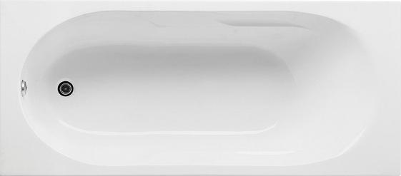 Cada baie rectangulara Roca Tazia 160x70cm acril