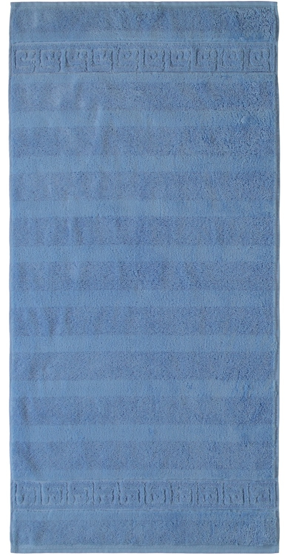 Prosop baie Cawo Noblesse Uni 80x160 cm albastru poza