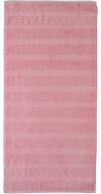 Prosop baie Cawo Noblesse Uni 80x160 cm roz antic poza