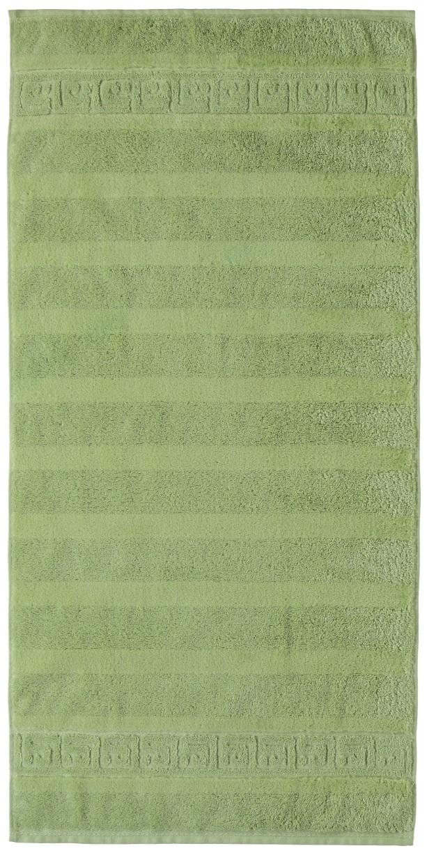 Prosop baie Cawo Noblesse Uni 50x100 cm verde reseda